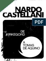 Castellani Leonardo - De Kirkegord a Tomas de Aquino (Scan)