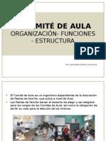 EL COMITÉ DE AULA  ORGANIZACIÓN- FUNCIONES - ESTRUCTURA.pptx