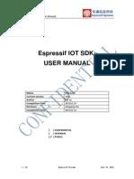 ESP8266 IoT SDK User Manual v0.8