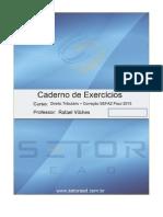 Direito Tribut Rio Icms Pi 2015 - Lista de Exercicios e Gabarito