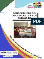 Caracteristicas Del Adolescente y Estilos de Aprendizaje