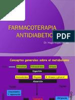 Farmacoterapia antidiabetica