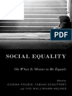 Carina Fourie, Fabian Schuppert, Ivo Wallimann-Helmer-Social Equality_ on What It Means to Be Equals-Oxford University Press (2015)
