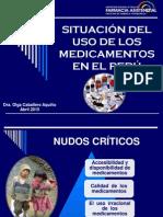 Situación Del Uso de Medicamentos en El Perú