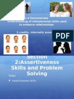 3 assertiveness