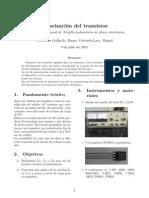 n°10-POLARIZACION DEL TRANSISTOR