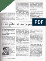 La Integridad Del Don de Profecía Por GERHARD F. HASEL