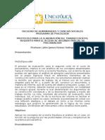 Protocolo parcial