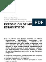 Exposición de Modelos Estadísticos