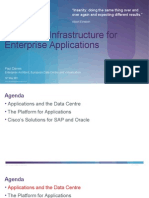 Optimized Infrastructure for Enterprise Applications