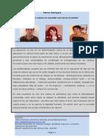 Articulo Tecnico-educar en Valores