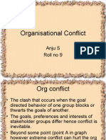 Organisation Conflict