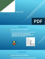Minería de Datos_introduccion