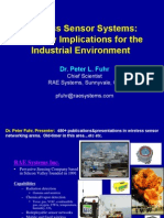 Wireless Sensor Systems Security Implications for the Industrial Environment Fuhr