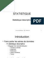Cours Stat Descriptive