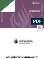 Los Derechos Humanos y la Trata de Personas