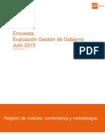 Eval Gobierno Jul 2015