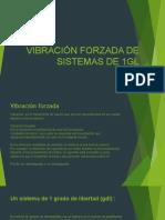 Vibración Forzada de Sistemas de 1GL