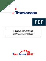 Crane Operator Assessor Guide