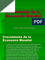 Crecimiento de La Economía Mundial