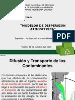 Modelo de Dispersion de Contaminantes Atmosfericos