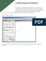 Simulación Entre PLCSIM_fluidsim
