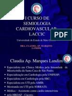 I Curso de Semiologia Cardiovascular - LACCIC - 1º Dia