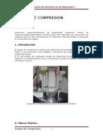 ENSAYO de COMPRESION Reporte Laboratorio