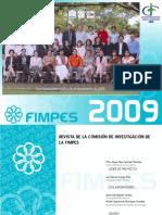 Revista de la Comisión de Investigación de FIMPES 2009