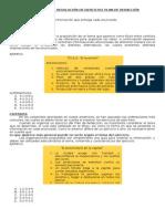 Metodología de Resolución de Ejercicios Plan de Redacción