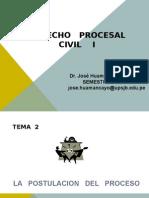QUINTA CLASE DPC 1 - LA  ETAPA  POSTULATORIA  DEL PROCESO.ppt