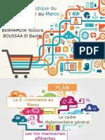 Le Cadre Législative Du E-Commerce au Maroc