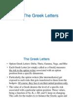 Option Greeks