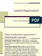 Industrial Organization 2012