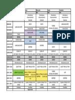 div  18 weekly schedule 2015-2016