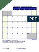 July 2014 Calendar