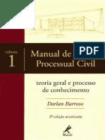 Darlan Barroso - Manual de Direito Processual Civil - 2º Edição - Volume 1 - Ano 2007 (1)