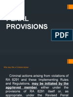 RULE VIII Penal Provisions1