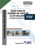 Guia de Pavimentos Semirigidos Para Carreteras Alto Volumen