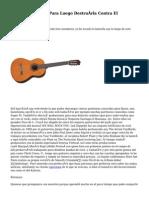Tocar La Guitarra Para Luego Destruírla Contra El Escenario