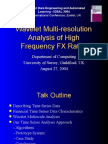 Wavelet Multiresolution Analysis of High Frequency Fx Rates 1203290417290522 5