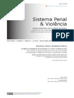 Sistema penal e violência