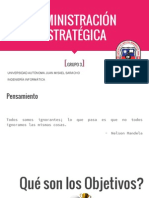 Adminis Traci One Strategic a Grupo 3