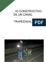 Proceso Constructivo de Un Canal