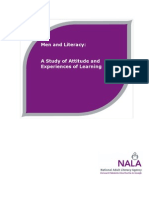 Men and Literacy - A Research Report