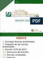 Presentacion Decreto 1076 de 2015 - MGA