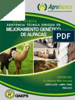 Alpaca Agrobanco Dr.melo
