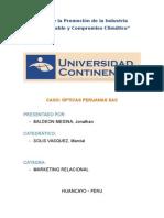Caso Opticas Peruanas Con Caratula