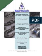 Catalogo Cadenas y Eslingas