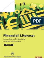Financial Literacy - Research Report About How Literacy Difficulties Act as a Barrier to Understanding Financial Information